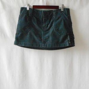 Size 3 Cargo Mini Skirt, XS Skirt